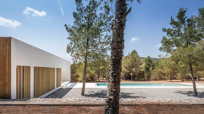 Ca l'Amo, a house in Sant Mateu, Ibiza.