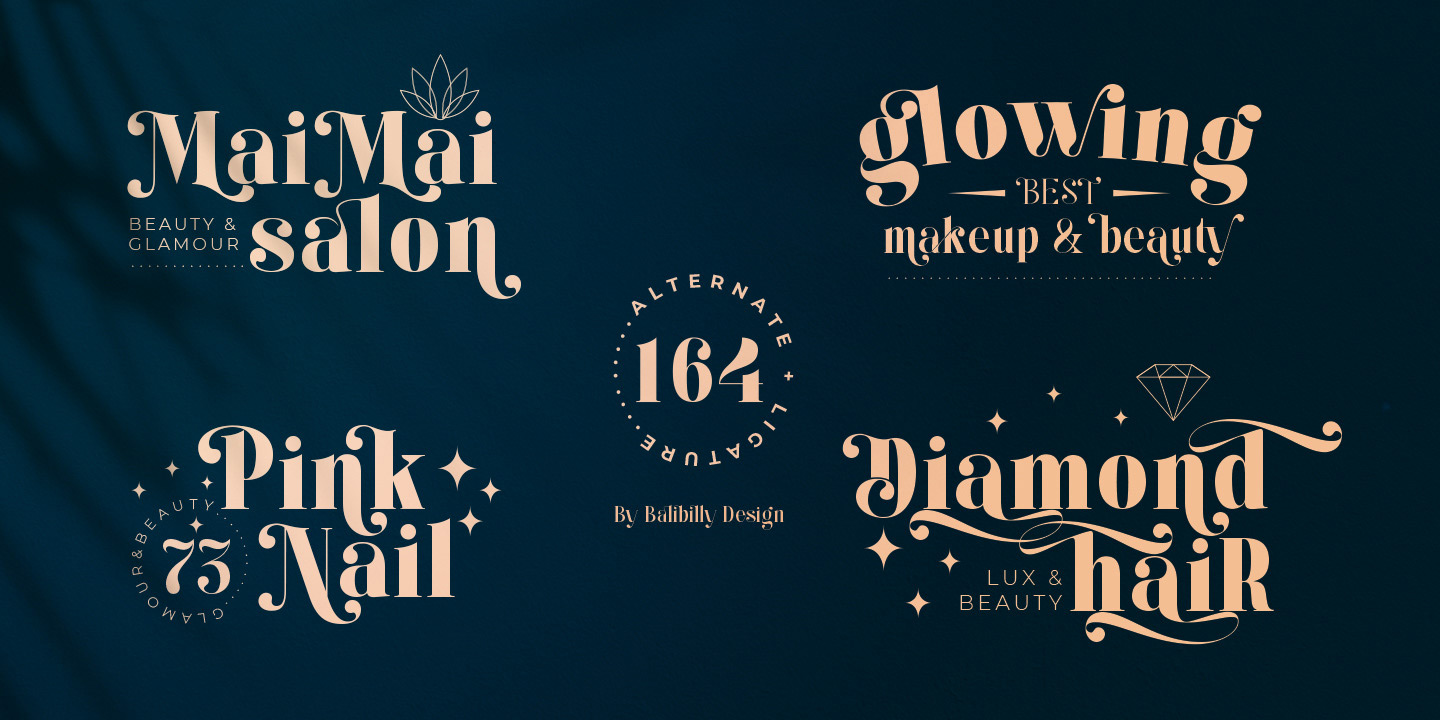 Kage font by Balibilly Design.