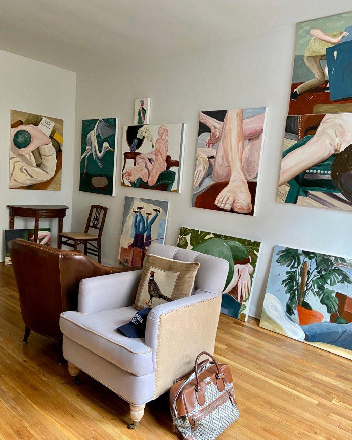 Oil paintings by American artist Mike Mellia.