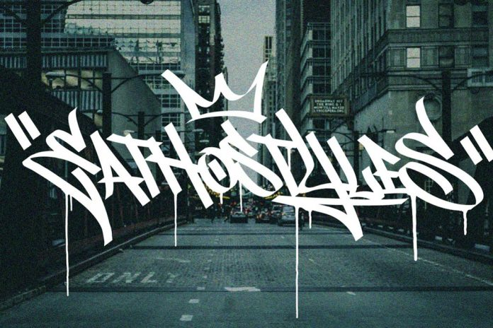 Graffiti Font — Street Tag vol. one