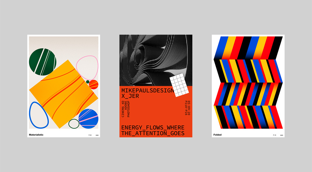 Printmaking Challenge V2: poster designs by Jerry-Lee Bosmans.