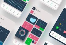 Smartphone Mobile App Ui Template for Adobe Illustrator