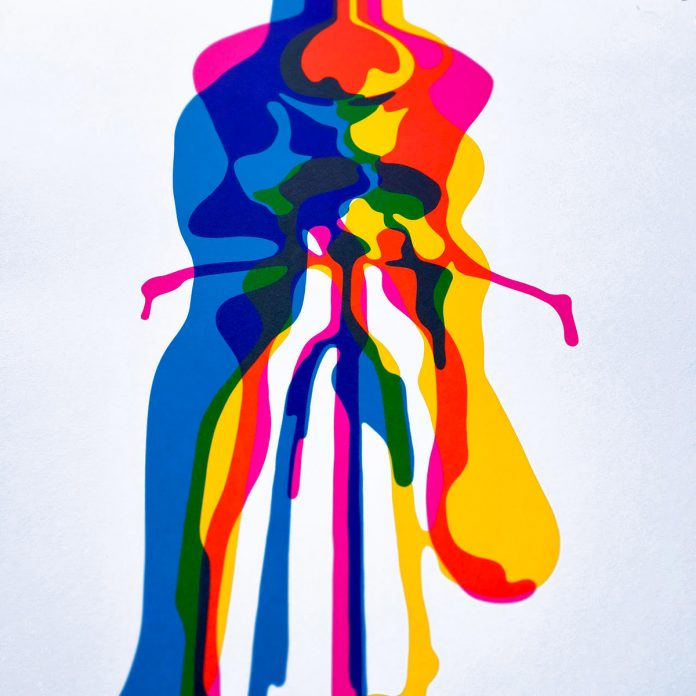 100copies New Bicycle Art #46 - Glide Glory Glow