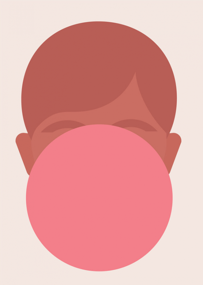 Minimalist flat illustration by Rob Bailey.