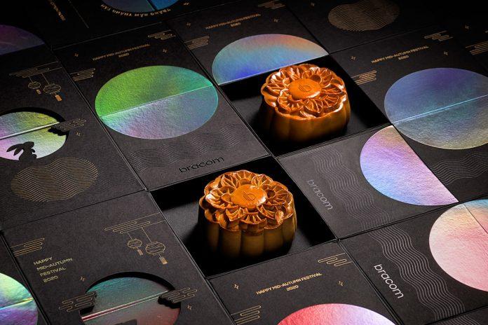 The magic mooncake gift box by Bracom Agency.