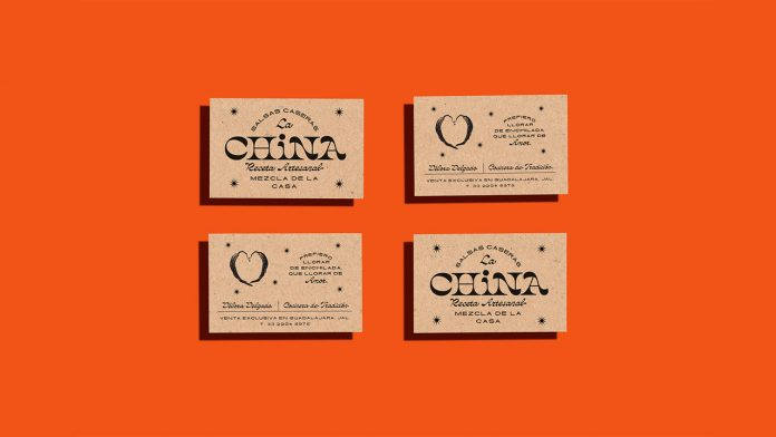 LA CHINA brand and packaging design by Estudio Cariño.