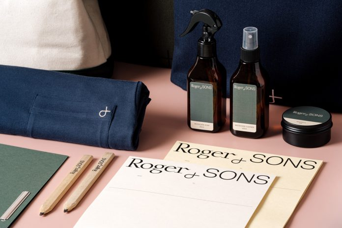 Roger&Sons branding by Foreign Policy Design.
