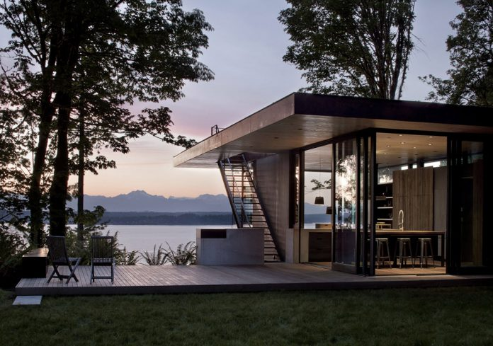 Case inlet retreat - architecture and interior design by mwworks.