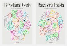Barcelona Poesia 2020 identity design by Marta Cerdà.