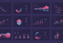 Dashboard infographics and UI elements by @dimakostrov.