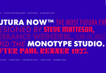 Futura Now from Monotype.