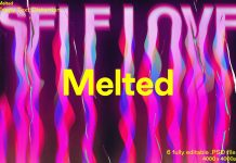 Melted - Trippy Text Distortions Photoshop Action