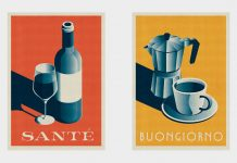 Mid Century Beverage poster by Telegramme Paper Co.