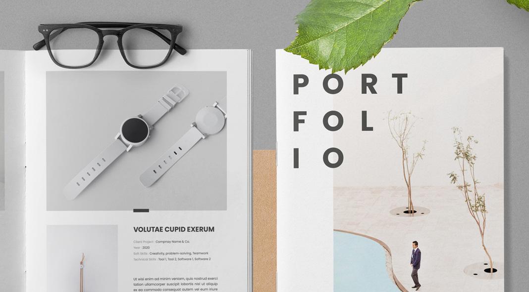 Portfolio Adobe InDesign template.