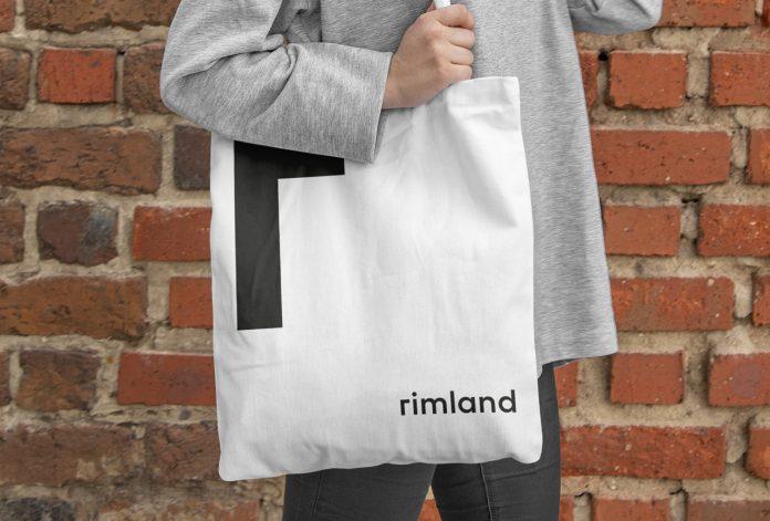 Rimland branding by graphic design studio Fagerström.