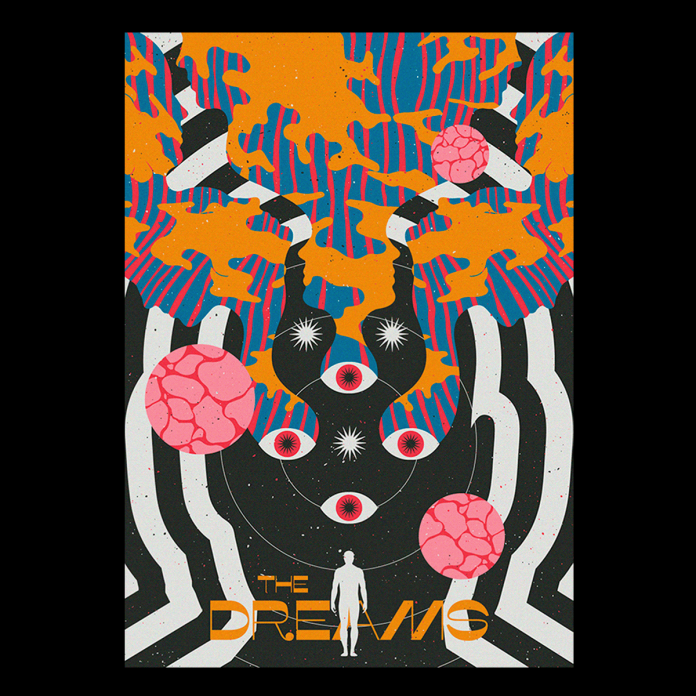 Spiritual and psychedelic poster designs by Posters BluMoo.