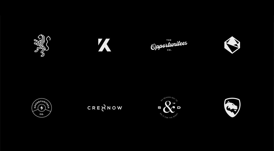88 logos designed by Sylvan Hillebrand.