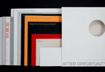 After Opportunity by Renatus Wu, a graphic designer, publisher, and editor.