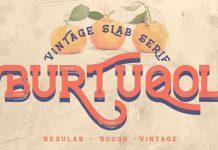 Burtuqol - Vintage Slab Serif Font