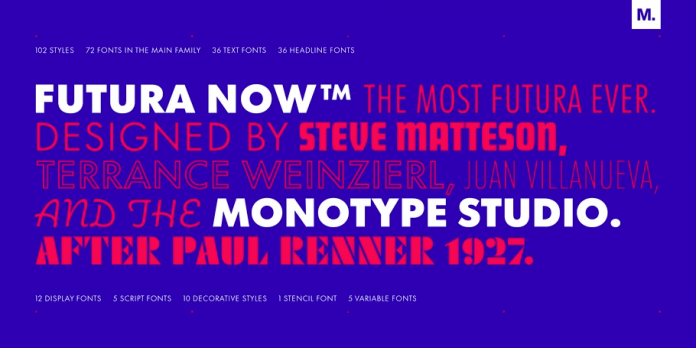Futura Now by Monotype