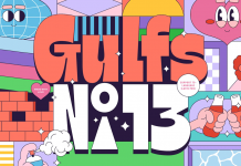 Gulfs Display Font by Studio Sun