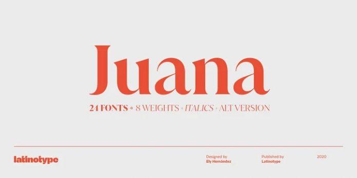 Juana Font Family