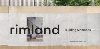 Rimland branding by graphic design studio Fagerström.