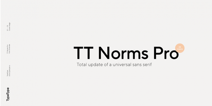 TT Norms Pro font family from TypeType