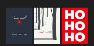 Top 10 Christmas and Holiday Card Templates available as Vector Graphics at Adobe Stock