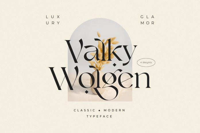 Valky font by NEWFLIX.Bro