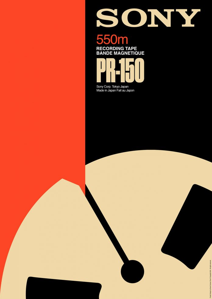 Retro brands and videotapes poster collection by Xavier Esclusa Trias.