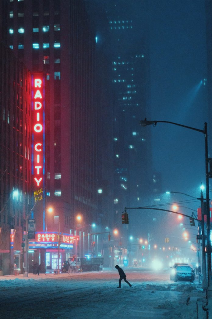 Winter in New York City - Photography by Eric Van Nynatten.