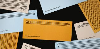 Branding by Studio Plastic for Gloria Content.