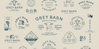 Grey Barn & Farm branding by Bluerock Design Co.