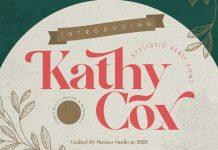 Kathy Cox Font