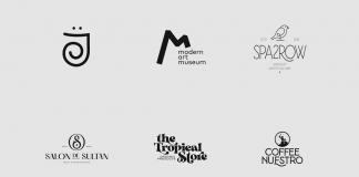 Logos and marks designed in 2020 by Mubariz Yusifzade.