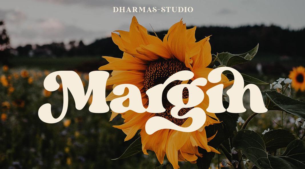 Margin Font by Dharmas Studio