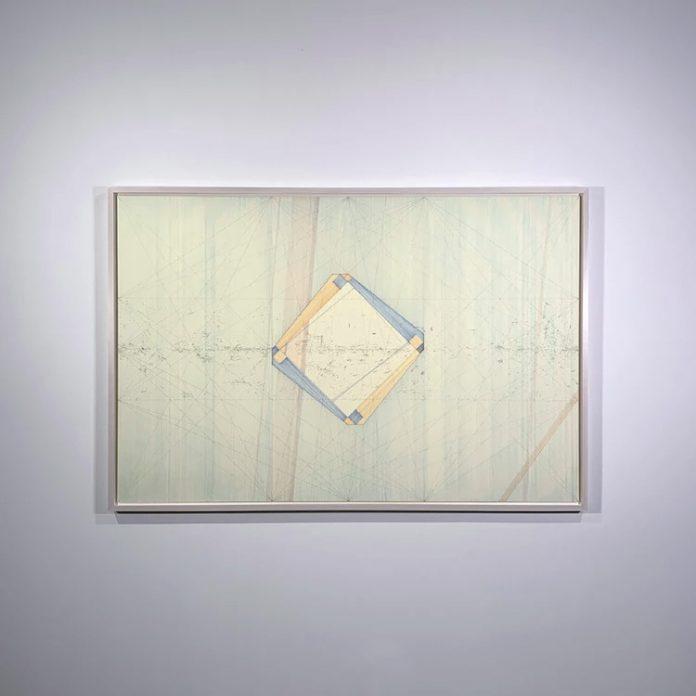 Radical Interceptor, Fragment 5016, 2020, pen, and ink on museum board.