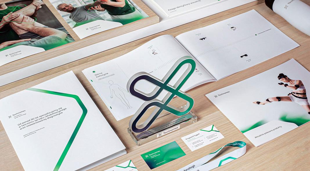 Technomex rebranding by Mateusz Pałka of Symbol Studio.