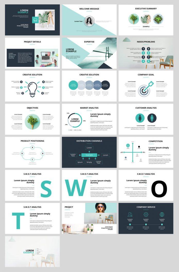 Business Presentation InDesign Layout