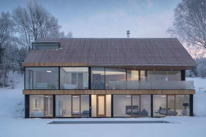 House in Krkonoše by Fránek Architects