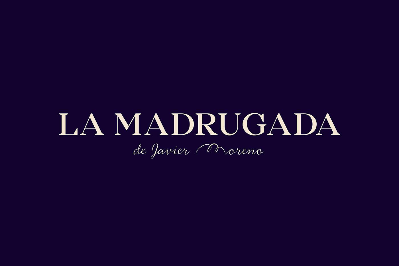 LA MADRUGADA branding by Rubio & del Amo