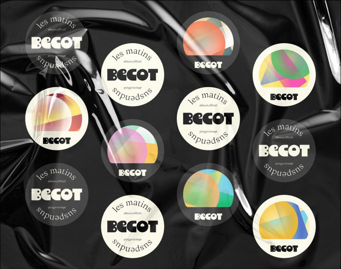 Bécot corporate identity design by Brand Brothers.