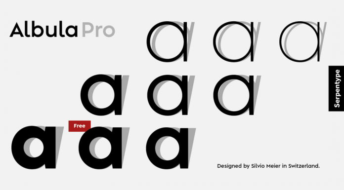 Albula Pro Font