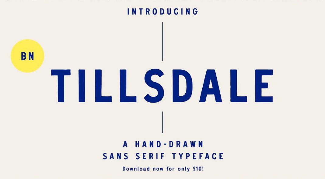 BN Tillsdale Font Family