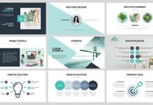 Business Presentation InDesign Layout