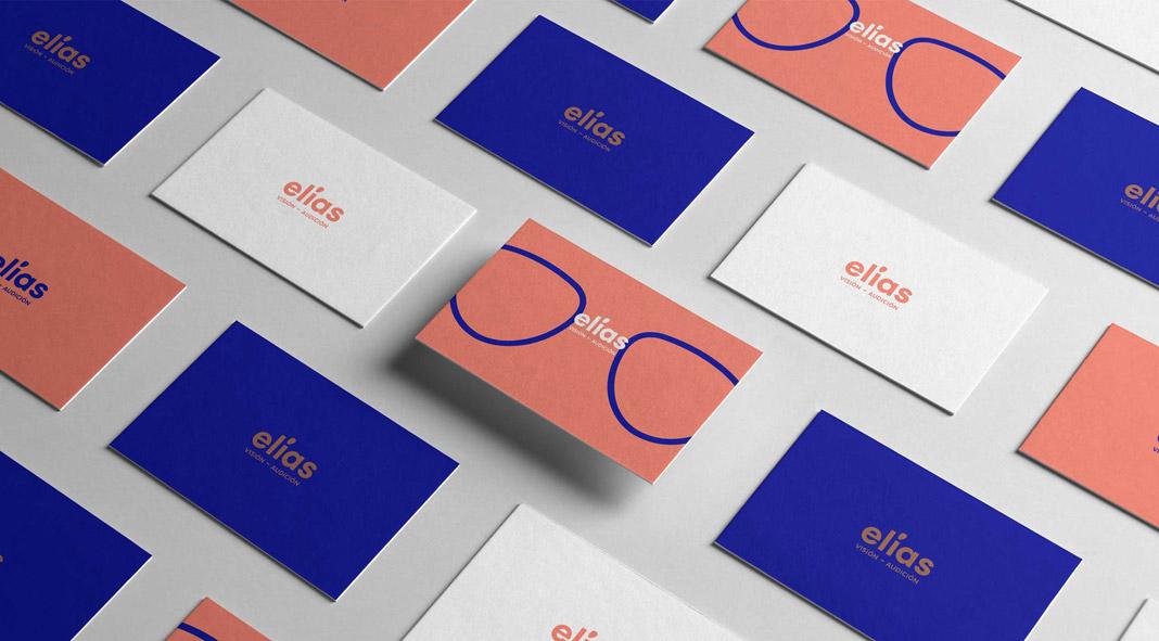 Óptica Elias brand design by Marina Goñi Studio