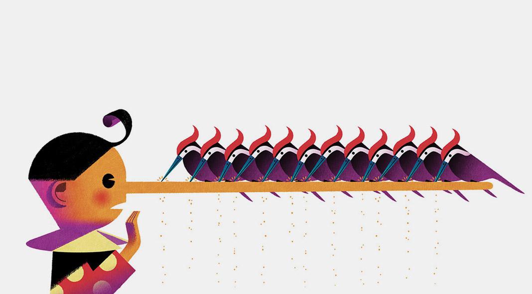 Pinocchio book illustrations by Andrea Rivola.