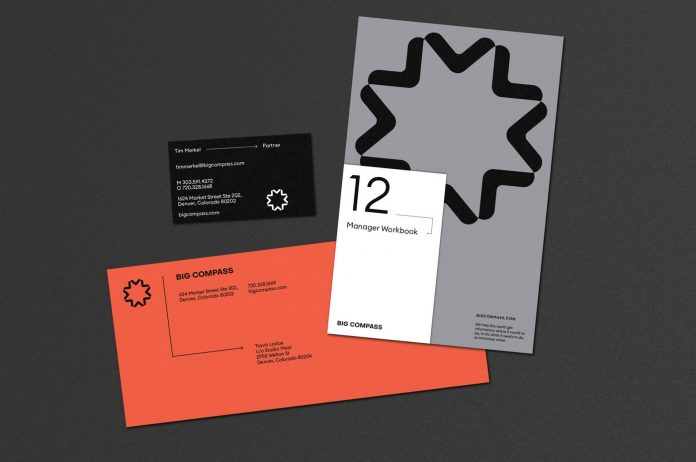 Big Compass branding by Studio Mast.