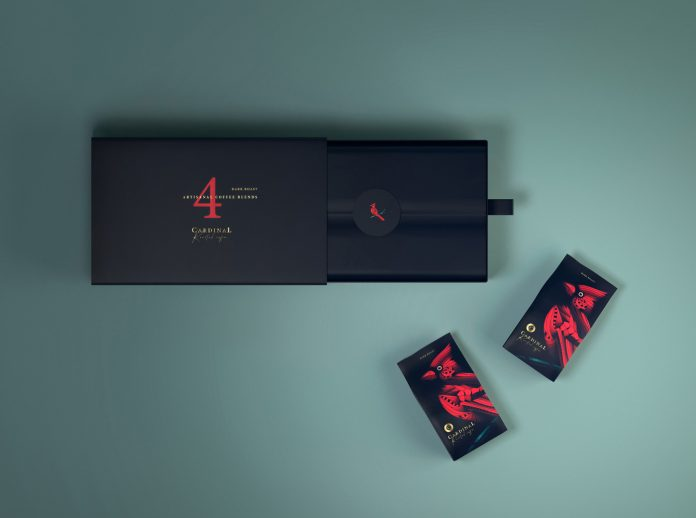 Coffee brand packaging design by CreativeByDefinition.